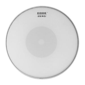 """Code Zéro 13"""" Snare Drum Enduit Pâte Head/peau Reverse Dot // Livraison Gratuite-afficher Le Titre D'origine"""