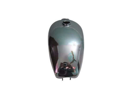 Brand New ROYAL ENFIELD TRIALS CHROME STEEL FUEL TANK REPRODUCTION