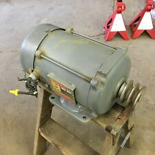 Dayton 1.5HP 208/220/480V 3 Phase Electric Motor Model 3N181-0