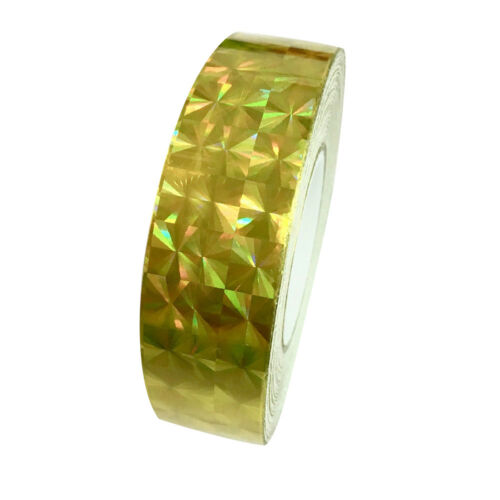 Square Glitter Sparkle Holographic Prism Lure Tape for Gift Packing Sple GN FJ