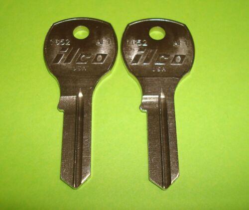 2 KEYS LOT OF 2 BLANK ILCO KEY Auth Florence Mailbox Locks AF1  ILCO 1652
