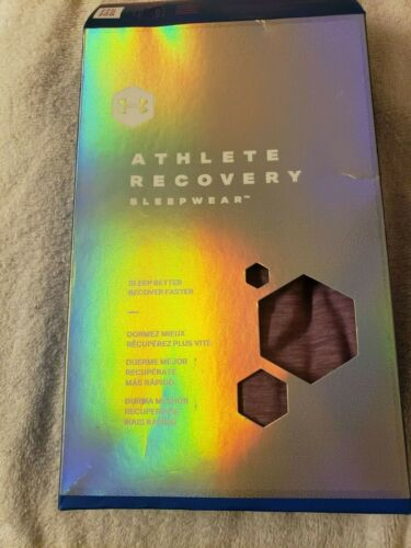 Details about  /Under Armour UA Sleep Recovery Women/'s Long Sleeve Henley Gray or Purple MSRP$65