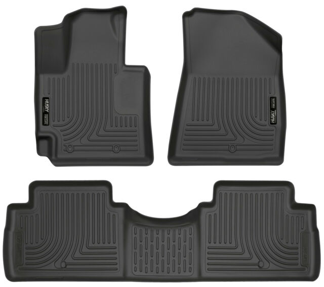 Great Husky Liners Fit 2014 2018 Kia Soul Front And Rear Floor Mats WeatherBeater  Blac