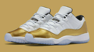 huge discount best cheap lowest price Details about NEW Air Jordan Retro XI 11 White Gold CLOSING CEREMONY  528895-103