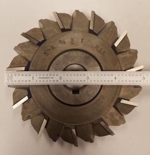 "Unbranded 5/"" x 3//4/"" x 1/"" HSS Side Mill Cutter STG Tooth #8B-B0092"