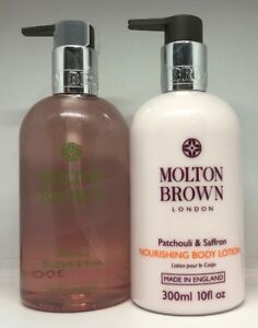Molton-Brown-Delicious-Rhubarb-amp-Rose-Hand-Wash-amp-Patchouli-Saffron-Body-Lotion