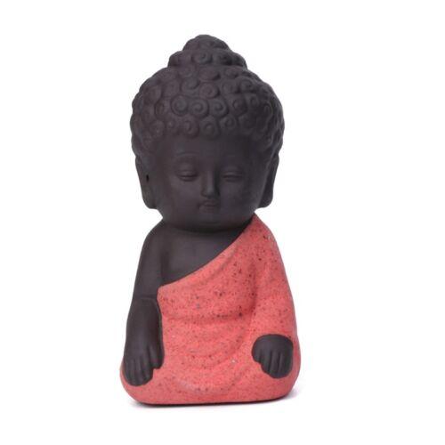 Mini Buddha Statue Statuette Yoga Handicrafts Ornaments Ceramic Decoration