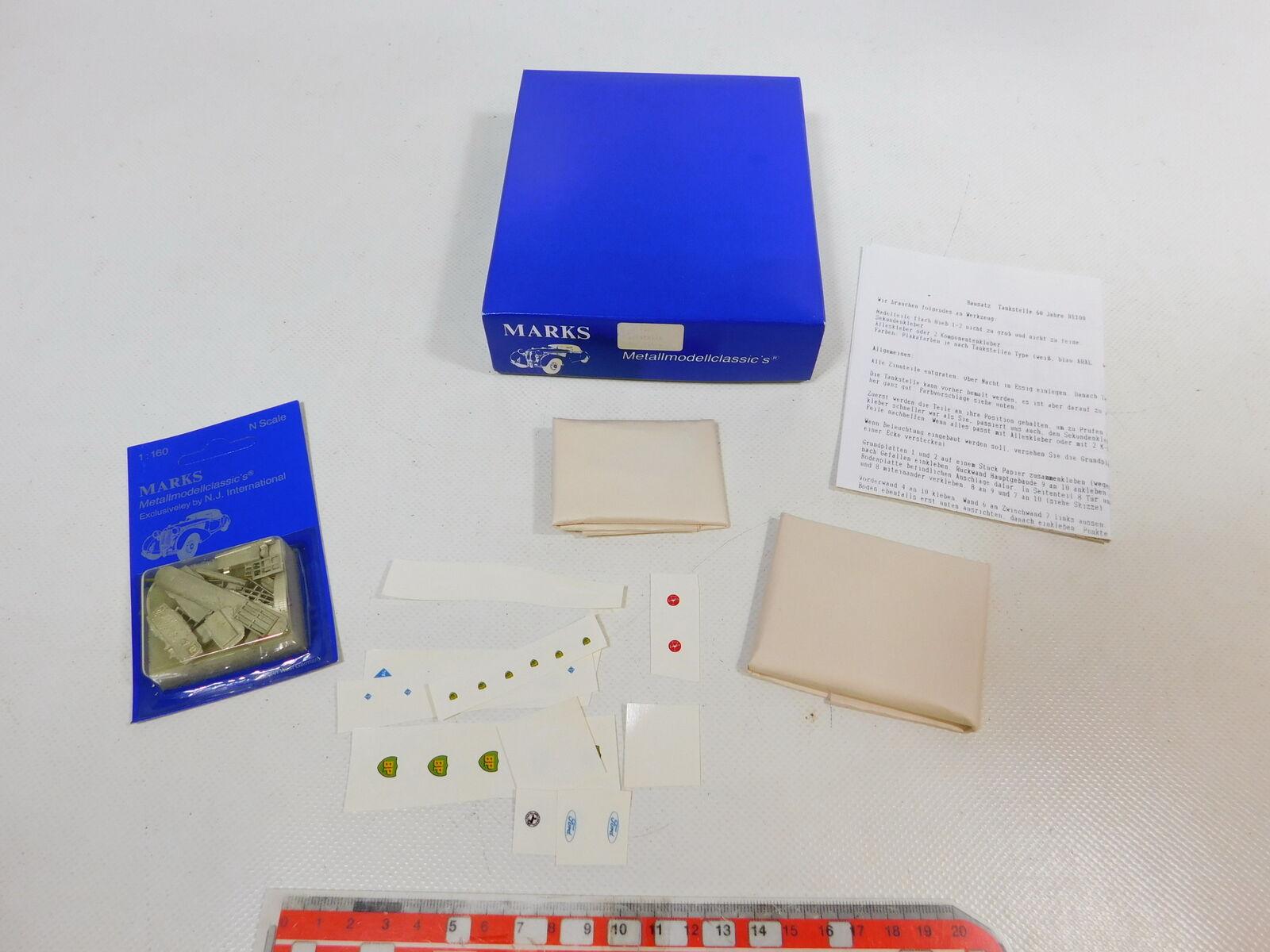 CD305-0,5   Marks 1 160 N B1100 Kit di Costruzione Stazione Servizio 60er Anni