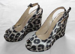 Filippo Raphael 2010581201374 Design Shoes Balcombe Colour Animal Size Womens 37 Wedge drwnadFZUx