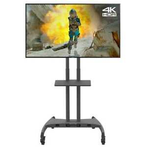 Mobile-TV-Cart-Floor-Stand-Mount-Home-Display-Trolley-for-32-034-70-034-Plasma-LCD