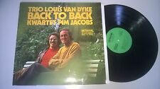 LP Jazz Trio Louis Van Dyke - Back To Back (8 Song) ARTONE Pim Jacobs