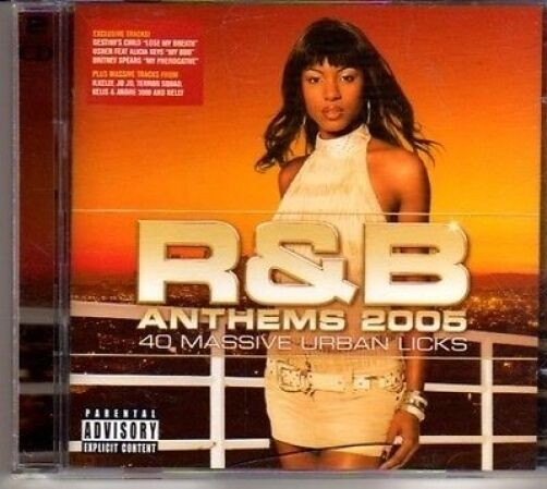 (CJ630) R&B Anthems 2005, 40 tracks - 2005 double CD