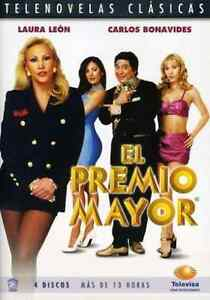 EL-PREMIO-MAYOR-DVD-Spanish-Telenovela-NEW-FACTORY-SEALED-4-Disc-Set
