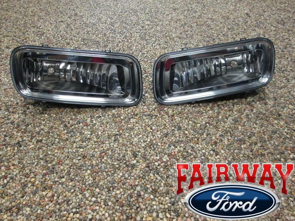 04 Thru 05 F 150 Oem Genuine Ford Parts Fog Lamps Lights Pair Both Light Wiring Harness Norton Secured Powered By Verisign