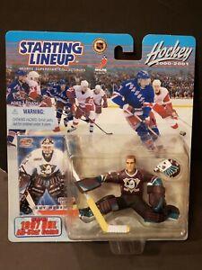 2000-01 Starting Lineup SLU NHL Anaheim Ducks Goalie Guy Hebert RARE