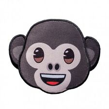 emoji - Affe Lacht - Aufnäher Aufbügler Bügelbild Applikation Patch #9391 Monkey