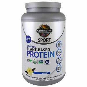 Organic Plant Based Protein Powder By Garden Of Life Sport Flavour Options Ebay
