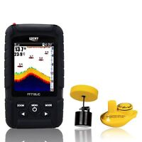 Ff718lic 3 Colour Lcd Display Wireless Sonar&wired Transducer Fish Finder