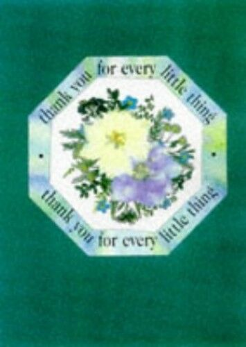 New, Thank You for Every Little Thing: (Pressed Flowers Blank Giftbook) (Pressed