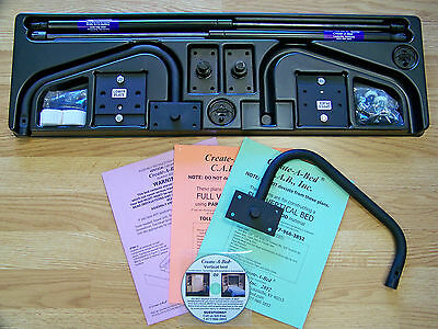 Murphy Bed Hardware Deluxe Kit Plans, Twin Size Deluxe Murphy Bed Kit
