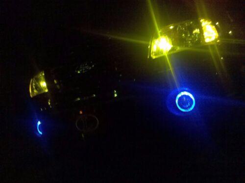 2010-2013 Chevy Camaro Blue Halo Angel Eye Fog lamps fog lights Driving light
