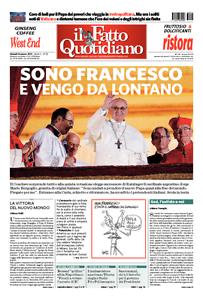 Il-Fatto-Quotidiano-SONO-FRANCESCO-E-VENGO-DA-LONTANO-14-marzo-2013