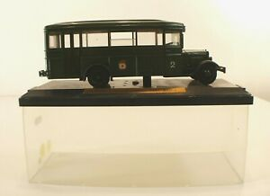 Mini Classik Urss Russe Zis-8 Command Bus 1945 Berlin Neuf En Boite 1/43