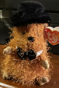 Mint Cond New Ty Beanie Baby Punxsutawney Phil Bears 2005 With All Tag - Retired