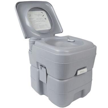 Goplus 5 Gallon 20L Portable Toilet