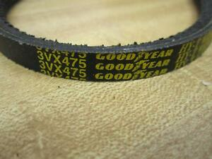 Goodyear 3VX475 HY-T Wedge Notched V-Belt (Pack of 2)