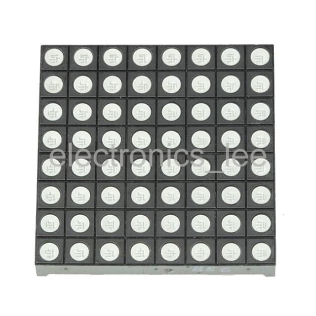 RGB Full Color Dot Matrix LED 8x8 Display 60x60mm Arduino