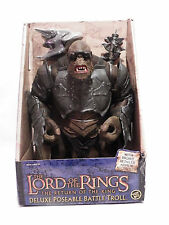 Lord of the Rings Return King Battle Attack Troll Roto RARE Hobbit ToyBiz