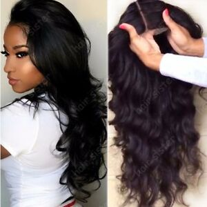 Remy-Long-Wavy-Indian-Virgin-Human-Hair-Lace-Front-Wig-Silk-Top-Full-Lace-Wigs-h