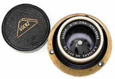 Goerz 6in f6.8 Gold Rim Dagor Barrel Lens #815640
