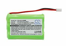 NEW Battery for Audioline Baby Care V100 G10221GC001474 GP100AAAHC3BMJ Ni-MH