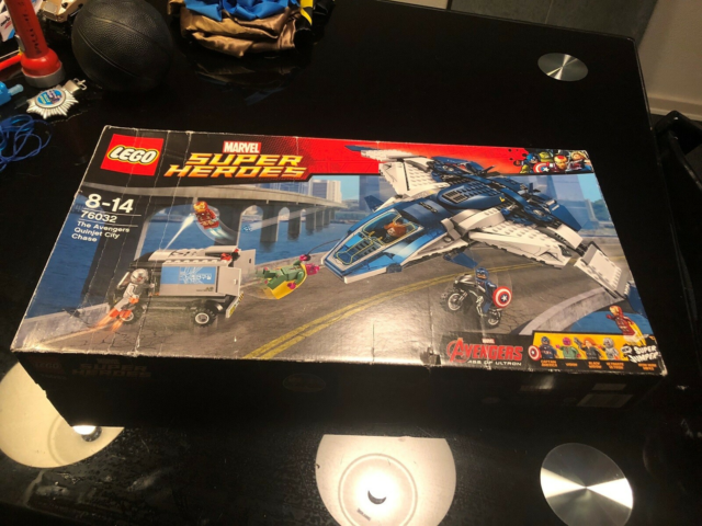 Lego Super heroes, 76032, Marvel Super Heroes - The…
