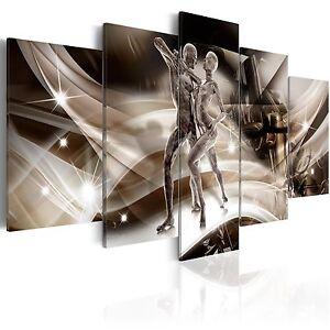 leinwand bilder xxl kunstdruck wandbild abstrakt paar erotik h c 0030 b m ebay. Black Bedroom Furniture Sets. Home Design Ideas