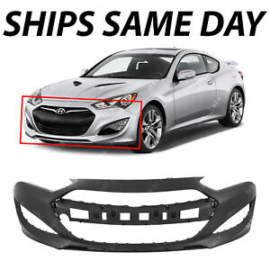 Genesis Coupe 2016 >> New Primered Front Bumper Cover For 2013 2014 2015 Hyundai Genesis