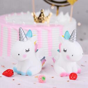 Cute-Horse-Cake-Topper-Dessert-Cupcake-Decor-Wedding-Kids-Birthday-Party-Dec-BF