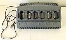 Motorola Impres 6 Unit Rack Charger Wpln4121br Xts5000 Xts3000 Mts2000 Ht1000
