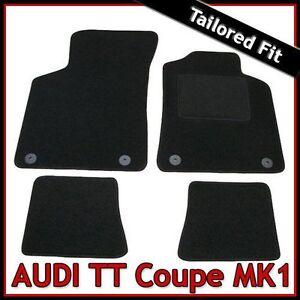 Audi-TT-Coupe-Mk1-1998-2006-Tailored-Fitted-Carpet-Car-Floor-Mats-BLACK