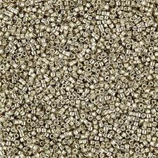 Miyuki Delica Seed Beads Size 11/0 Galvanized Pewter 7.2g (J96/7)