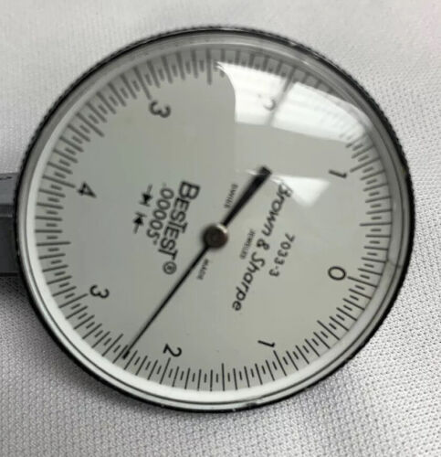 NEW Dial Test Indicator Replacement Crystal for Brown /& Sharpe Bestest 38mm