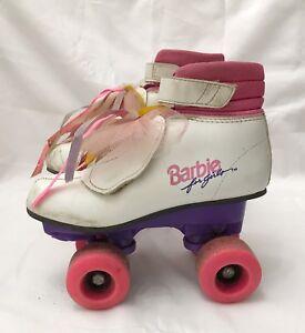 Barbie-Boot-Roller-Skates-Boots-Brookfield-Vintage-1988-Girls-size-1-Children-039-s