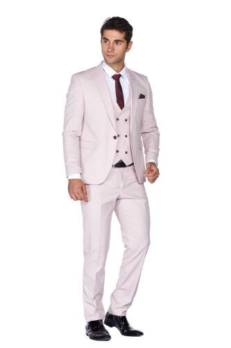 Tuta rosa gilet con da abito da cerimonia slim in chiaro uomo fit smock completo 4pq4H6Xr