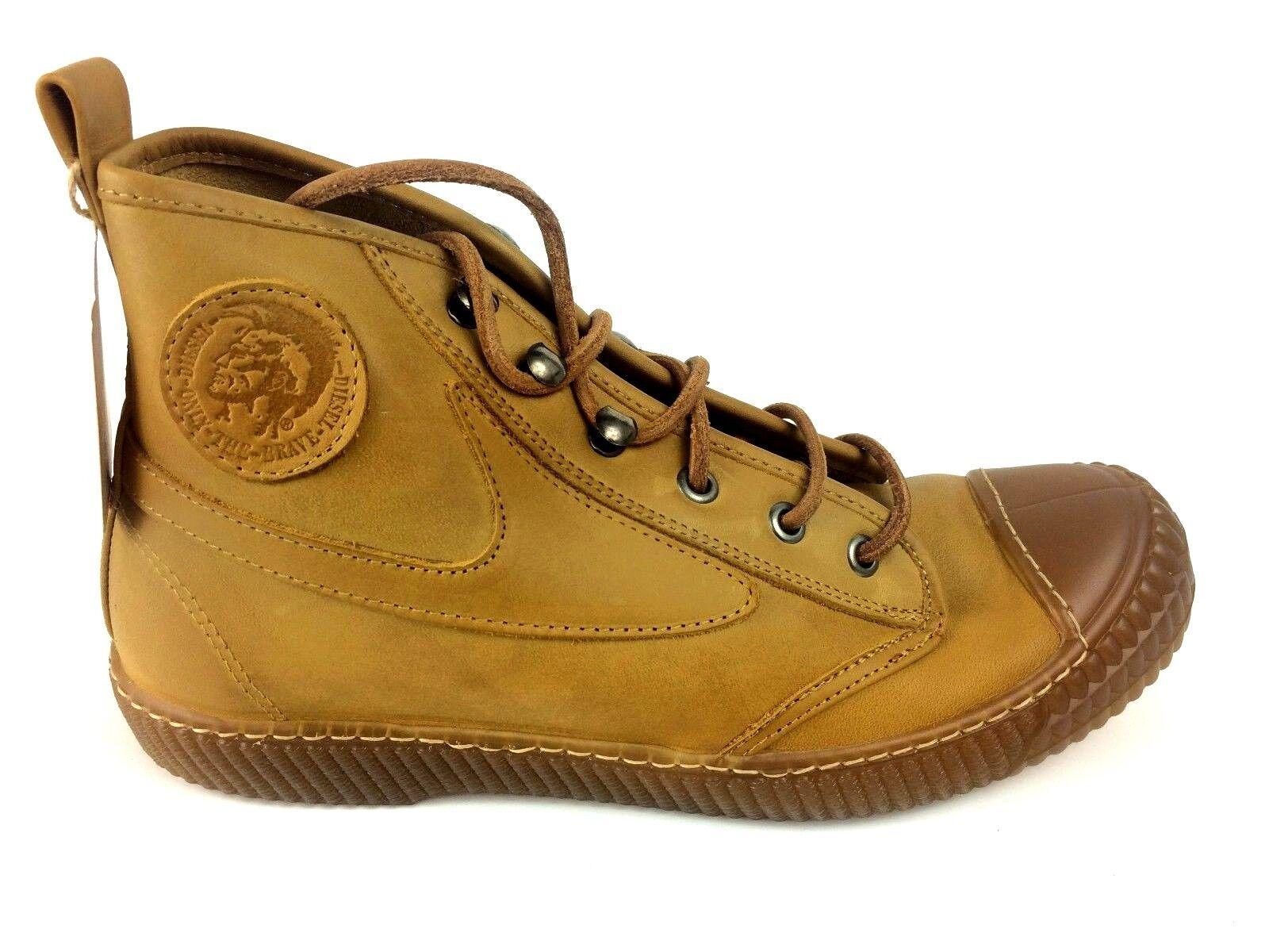 DIESEL Sneaker Sondermodel DRAAGS94 Herren Sneakers Men Shoes Braun Leder Y01032