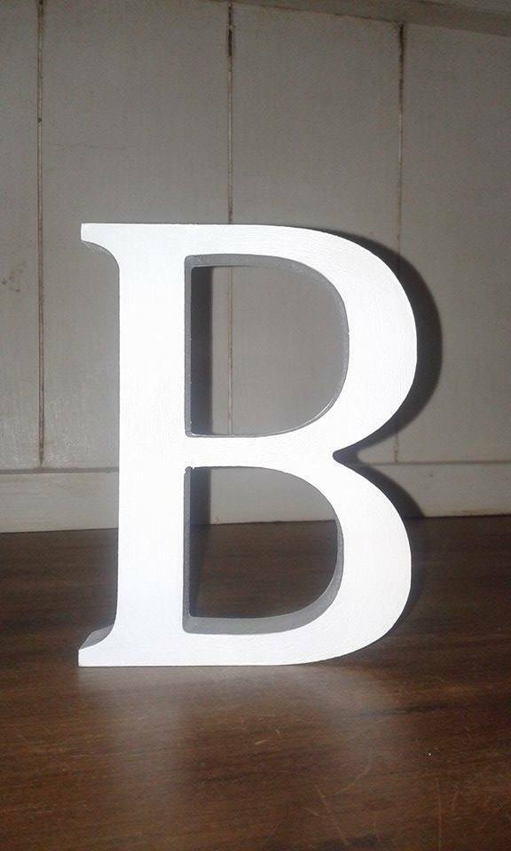 Tout 14 en Bois Blanc Lettres A-Z ou & (avait), Signes (avait), & 13 cm grandes lettres e4e390