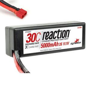 Dynamite-Reaction-11-1V-5000mAh-30C-3S-LiPo-Hardcase-Battery-Deans-Connector