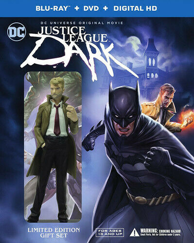 Justice League: Dark (2 Disc, Blu-ray + DVD, Limited Edition) BLU-RAY NEW