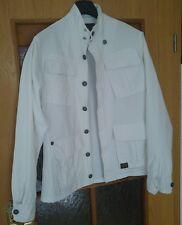G - Star Jacke Größe L, weiß 100% Coton Top